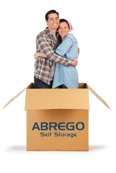 Couple in Self Storage Box